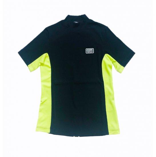 Italian Picket Mockneck Shirt / men