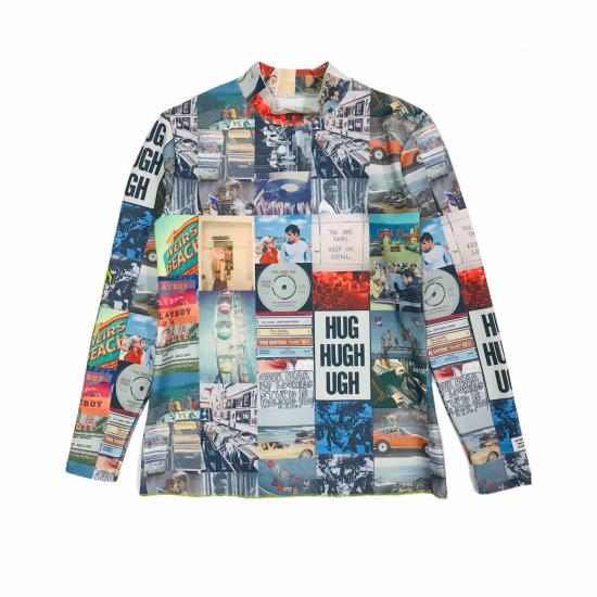Rockaway mockneck shirt / men