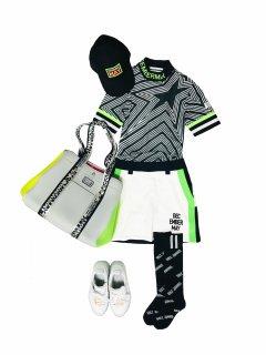 Trapezoid Bycolors skirt / women