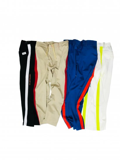 Tapered Lineponti ankle pants / MAN