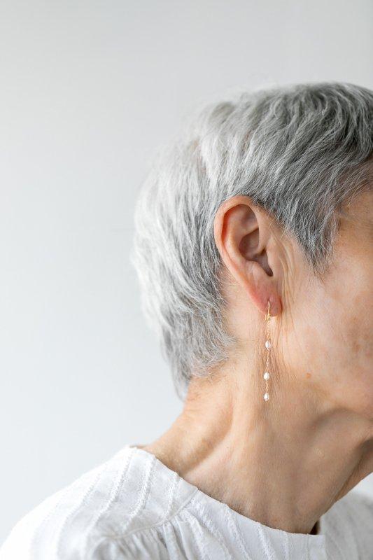 SOURCE  Random Keshi Pearl Earrings