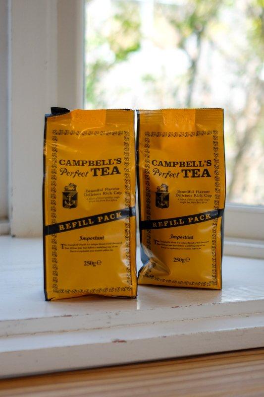 CAMPBELL'S Perfect TEA 250g リフィルパック