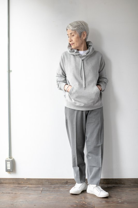 YAECA STOCK メンズ&レディス裏毛パーカー