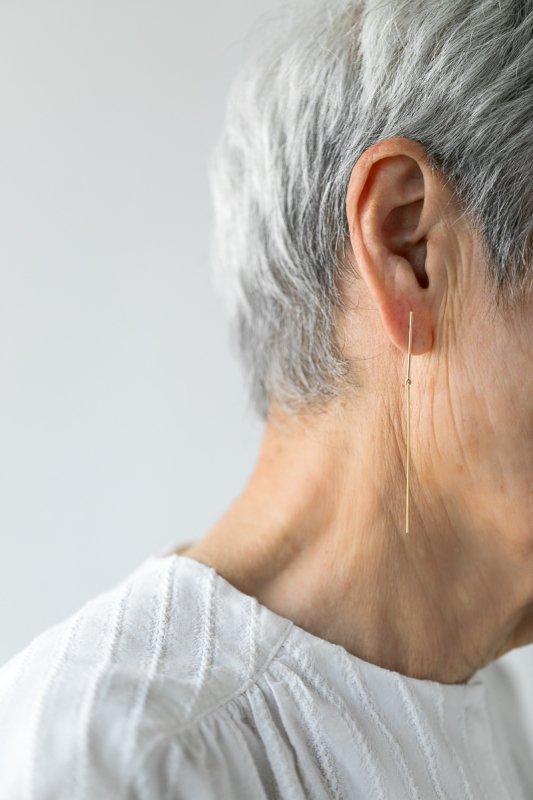 Kathleen Whitaker Strand & Stick Earring