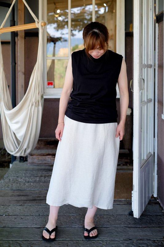 Veritecoeur Shakar Organic T-Cloth ノースリーブTee