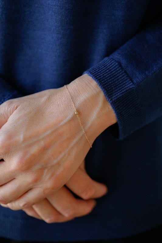 SOURCE 2mm Rosecut Diamond  Bracelet