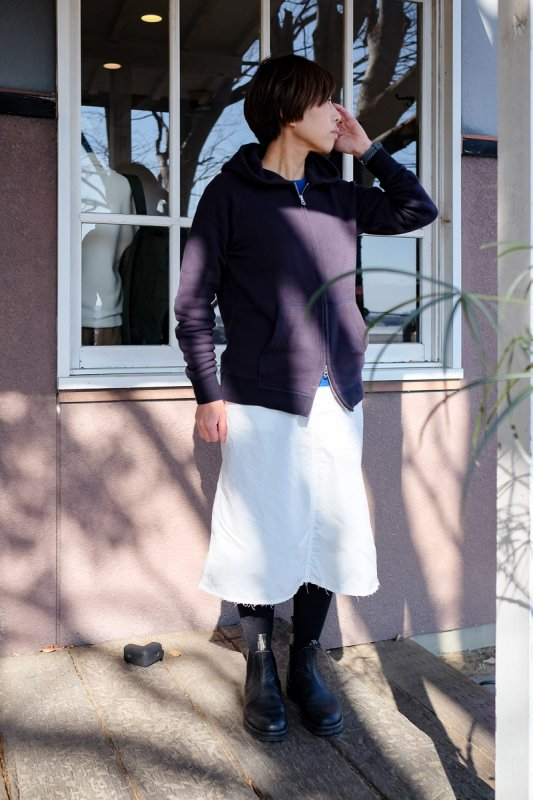 n100 Cotton Poplin Army Skirt