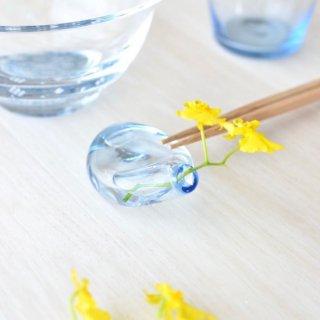 【香川県/Rie Glass Garden】箸置き ひと花(ガラス製)