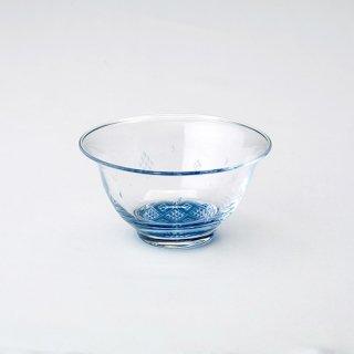 【青森県/白神ガラス工房】こぎん硝子 小鉢(ガラスボウル)