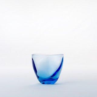【青森県/白神ガラス工房】ゆらめきグラス ショート