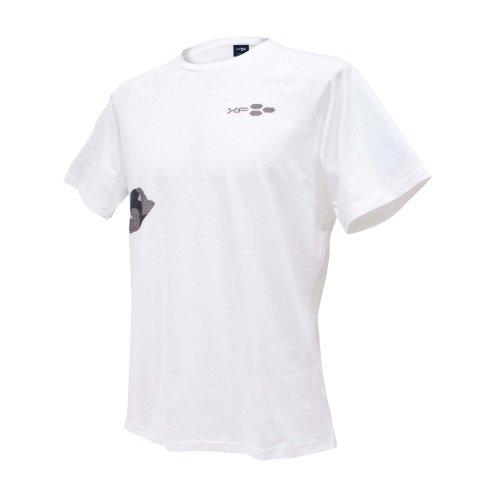 Tシャツ XF05 迷彩 ホワイト