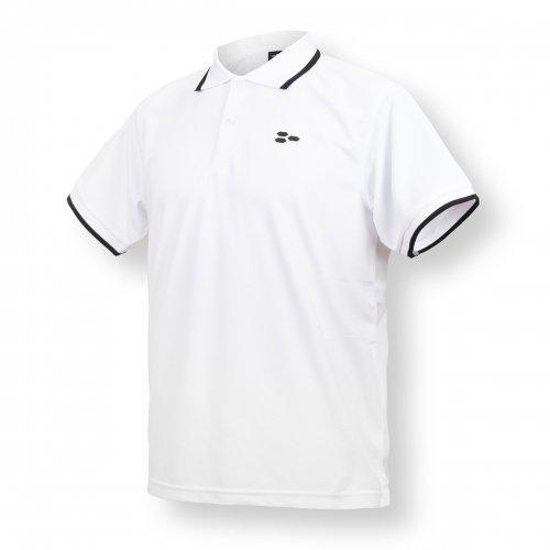 ドライ ポロシャツ ホワイト