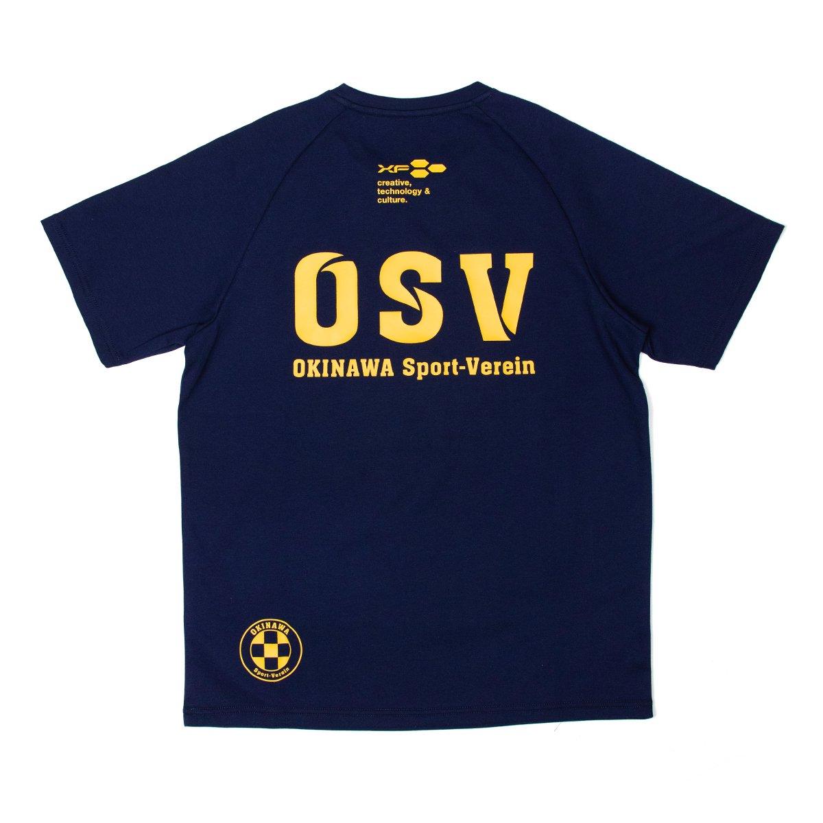 沖縄SV(OSV) Tシャツ 五四柄 ネイビー