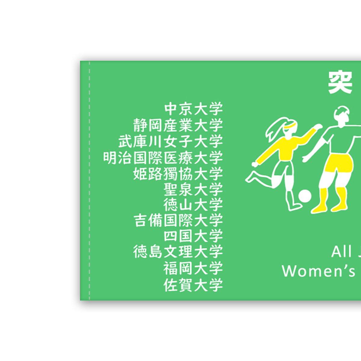 第29回全日本大学女子サッカー選手権大会 オフィシャル記念タオル
