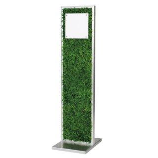 サインスタンド片面全面グリーン 210×210