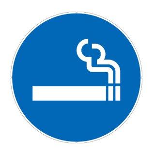 カラープラポール用プレート 喫煙