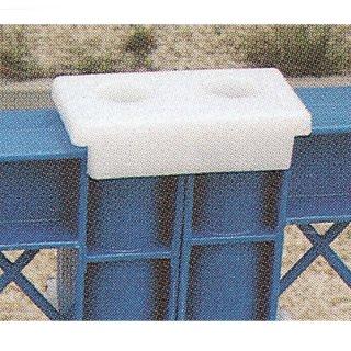 プラスチックフェンス用 連結ジョイントパーツ