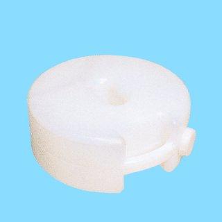 プラスチックフェンス用タンクベース(注入式) 白