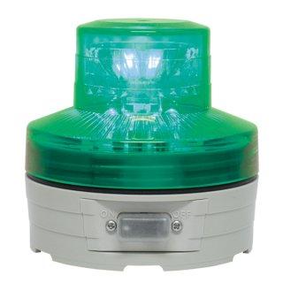 LED回転灯 ニコUFO φ76 グリーン