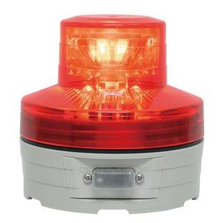 LED回転灯 ニコUFO φ76 レッド