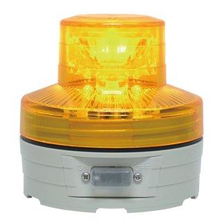 LED回転灯 ニコUFO φ76 イエロー