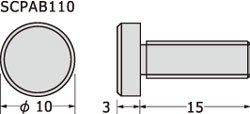 パネルフィクス バー φ10-3ボルト