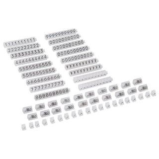 ニュープライスキューブ セット M 透明/黒文字