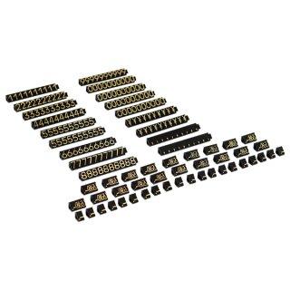 ニュープライスキューブ セット L 黒/金文字