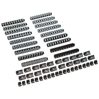 ニュープライスキューブ セット L 黒/白文字