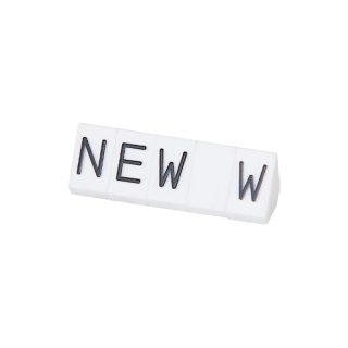ニュープライスキューブ 補充用単品 M用5セット 白/黒NEW
