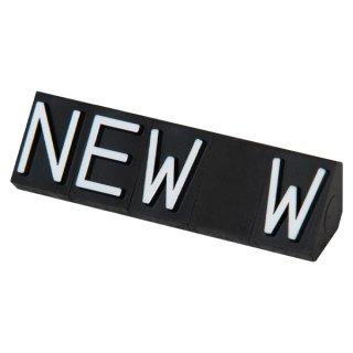 ニュープライスキューブ 補充用単品 L用5セット 黒/白NEW