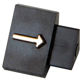 ニュープライスキューブ 補充用単品 L用(20粒) 黒/金矢印