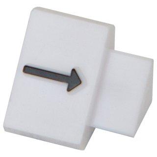 ニュープライスキューブ 補充用単品 L用(20粒) 白/黒矢印