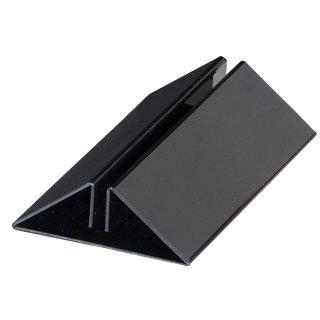 PETパネルスタンド ブラック (5mm・7mmのボード用)