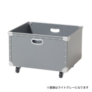 ファイバー収納BOXフチ強化W520ナチュラル 【受注生産】