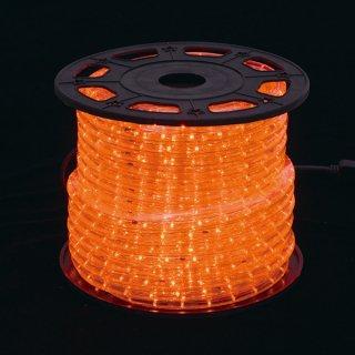 新360°発光ロープライト2 オレンジ