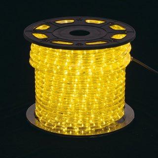新360°発光ロープライト2 イエロ-