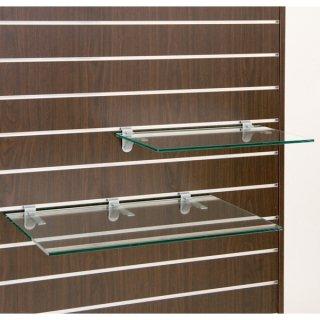 スロットウォール用ガラス棚セット W600×D350