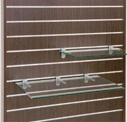 スロットウォール用ガラス棚セットW450×D350