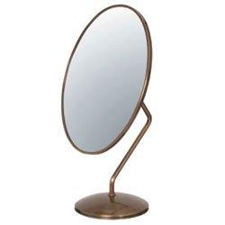 ダエン型卓上鏡(鏡厚3mm) ゴールド