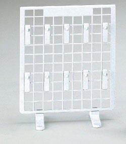 樹脂製卓上ネットスタンド用フック L70 白