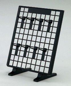 樹脂製卓上ネットスタンド用フック L40 黒