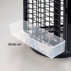 樹脂製卓上回転ネット用ディスプレイボックス