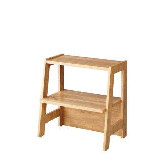 木製ディスプレーラック 2段