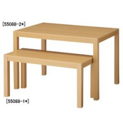 木製ショーテーブル W1070 ホワイト