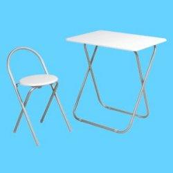 フォールディングテーブルセット(7050)ホワイト