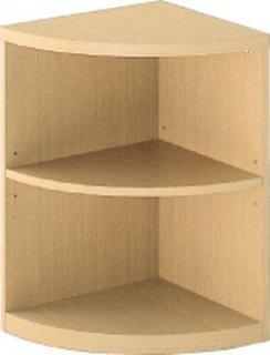 木製コーナー台 ダークブラウン色