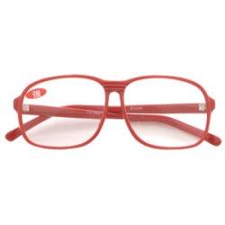 老眼鏡単品 SGS-B3 強度+3.5 レッド