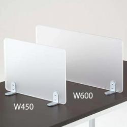 カウンター仕切板 スクエア W450