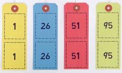 ペーパークロークチケット(ミシン目入)1箱